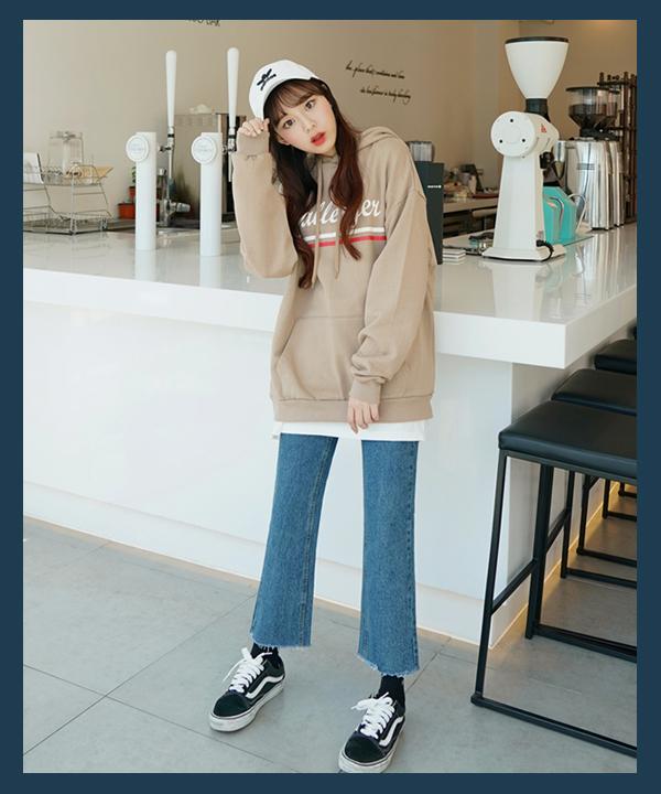 cách phối đồ với áo hoodie nữ dễ thương