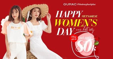 HAPPY WOMEN'S DAY - Vui Hết Sẩy hàng hiệu giảm giá từ 8OK