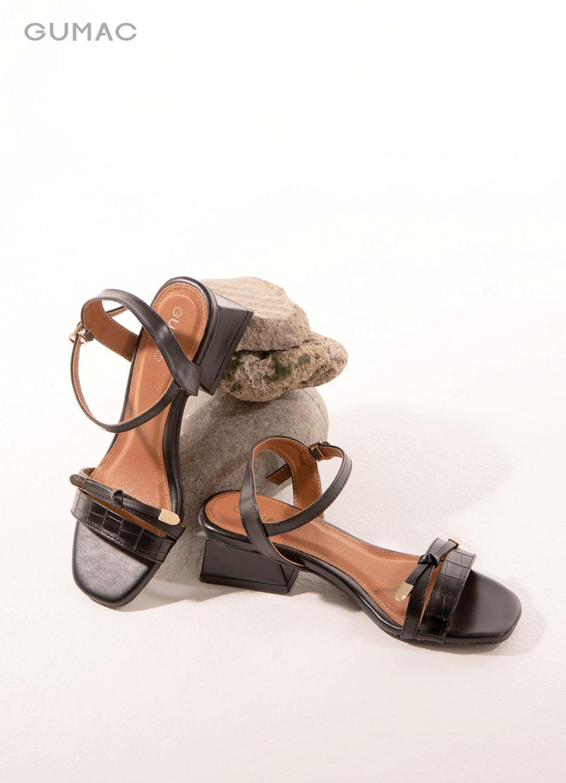 Sandal thắt nơ 2 quai