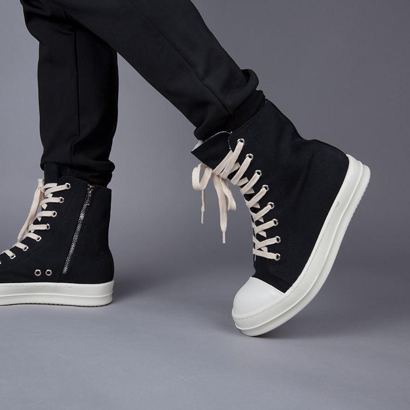 mix đồ với giày Rick Owen