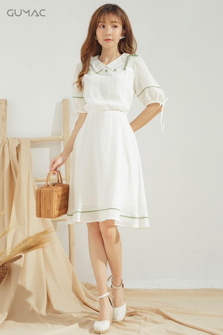 Quần áo vải tencel màu trắng