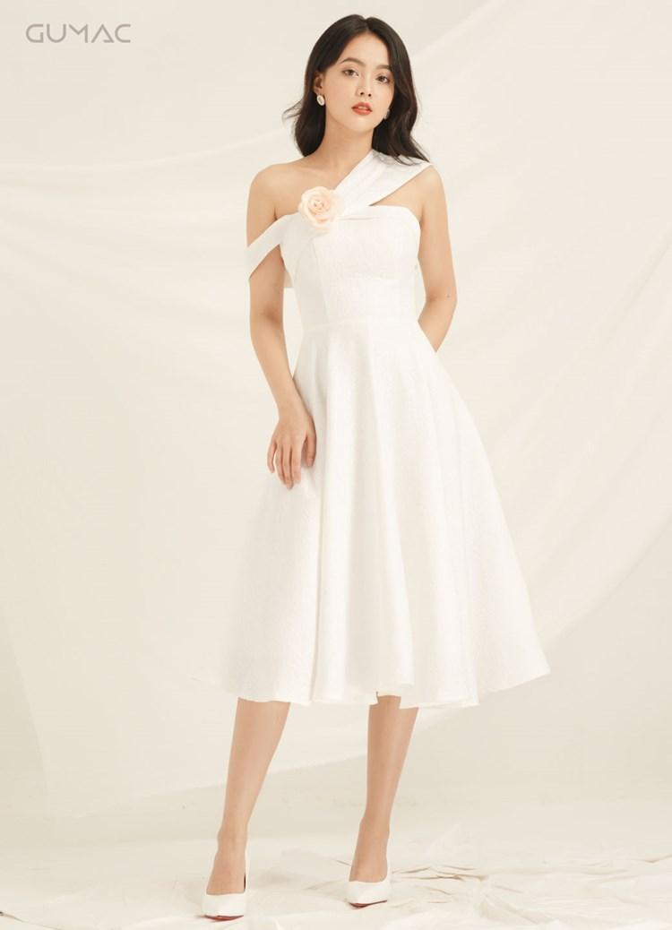 Đầm Luxury rớt vai