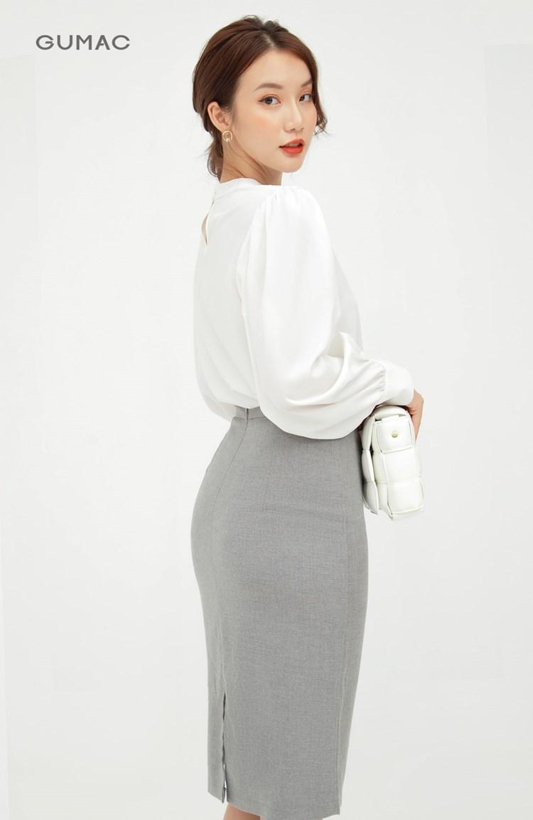 Chân váy suông cơ bản