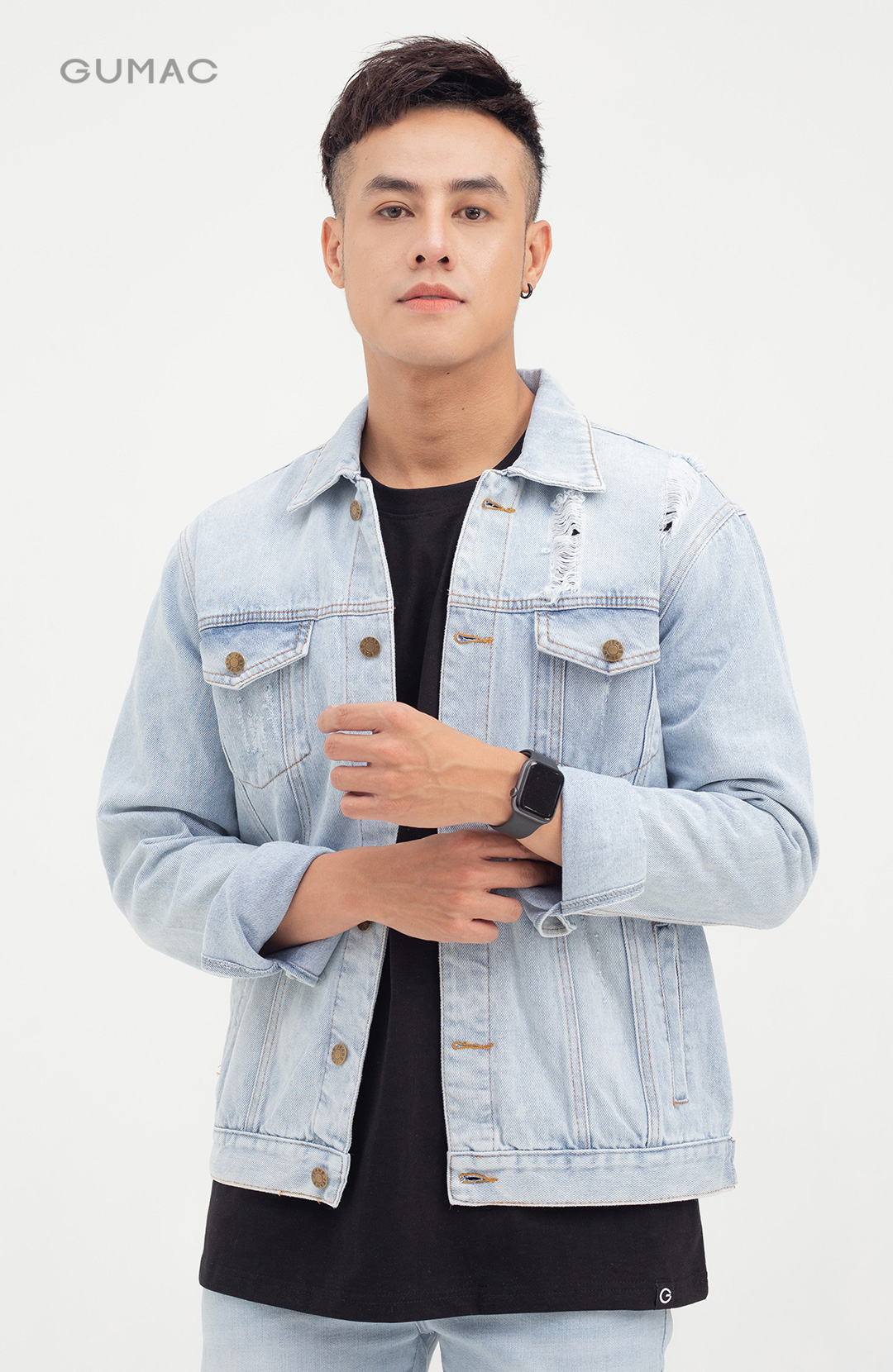 Áo khoác jeans cơ bản